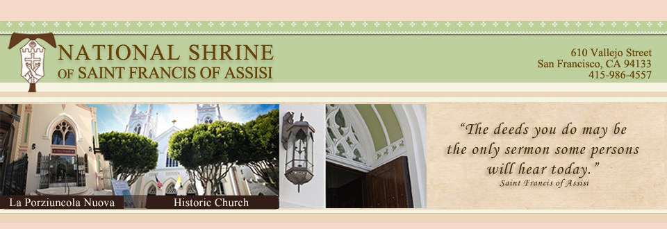 St  Francis of Assisi National Shrine: Franciscan Prayer