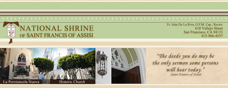 National Shrine of Saint Francis of Assisi | Home